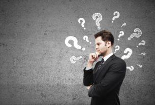 бизнесмен и вопросы