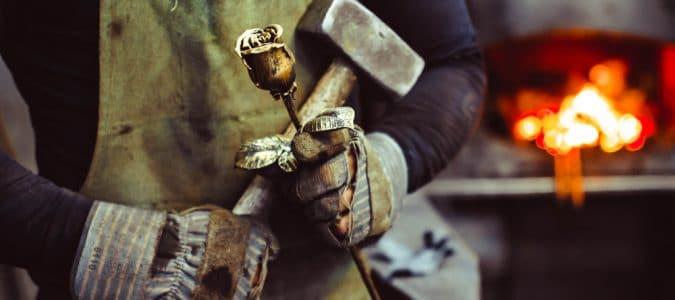 Дело по производству кованых изделий